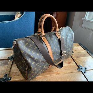 Louis Vuitton Boston keepall 45 Travel Bag